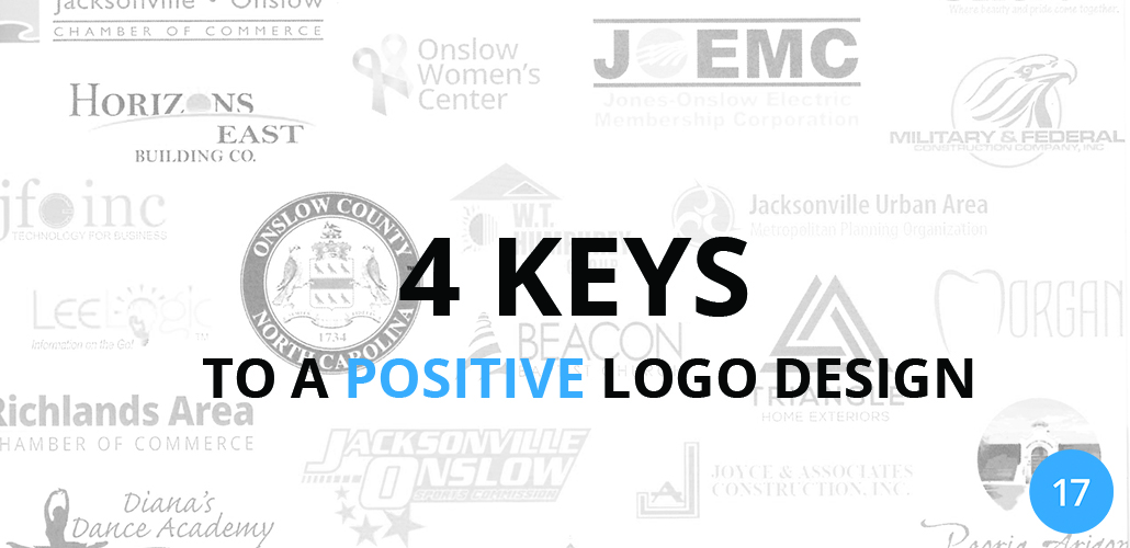 4 Keys to a Positive Logo Design - 17Blue Digital Agency