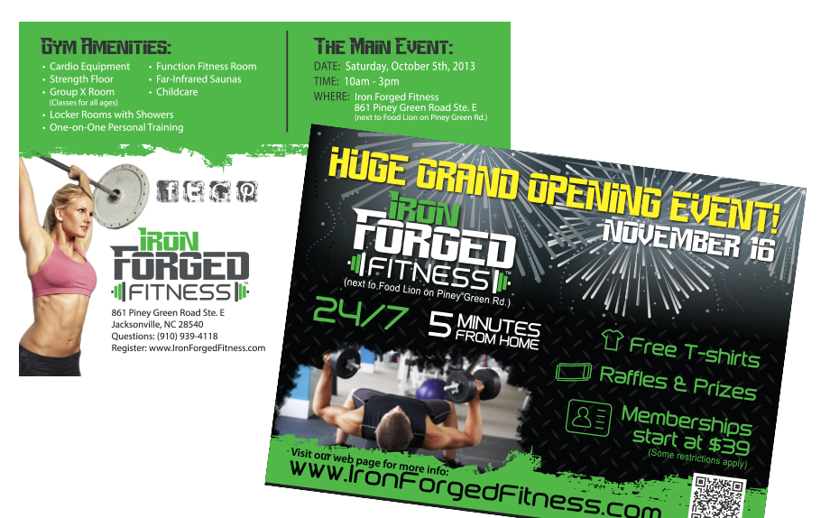 Iron Forged Print & Promotions
