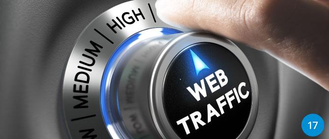 21 Strategies to Turn Up Website Traffic