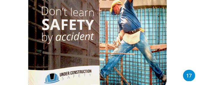 Under Construction Safety Branding No Accident