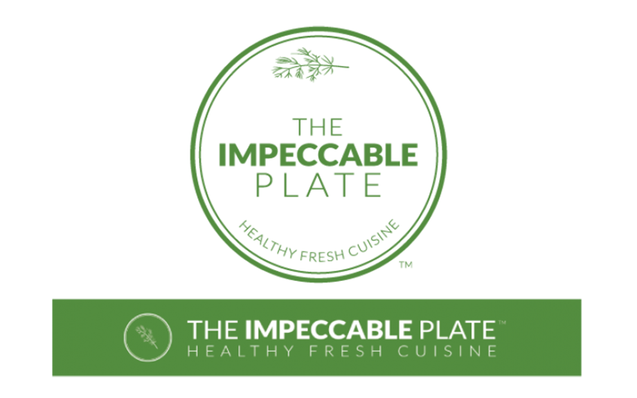 The Impeccable Plate Logo