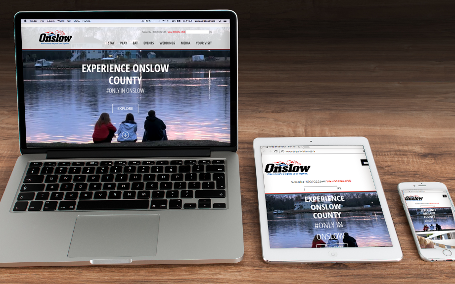 Onslow Tourism Website Development