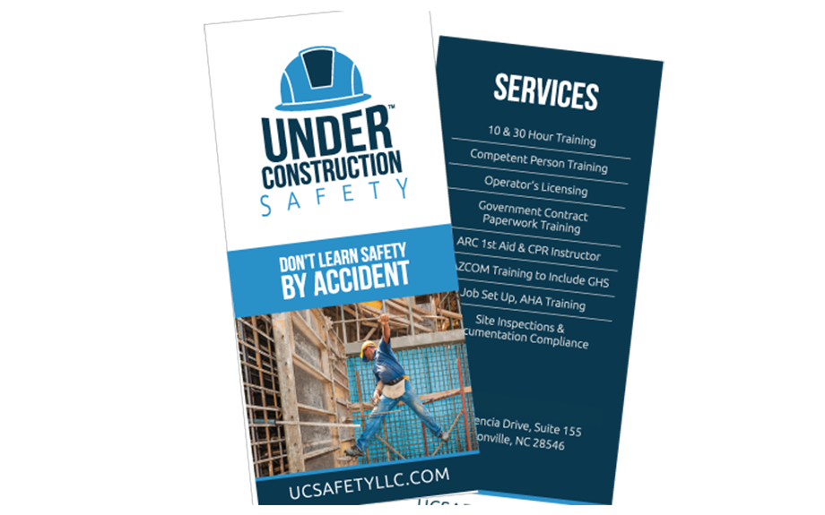Under Construction Safety Brochure