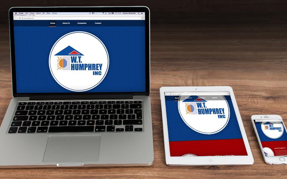 W.T. Humphrey Corporate Website Development