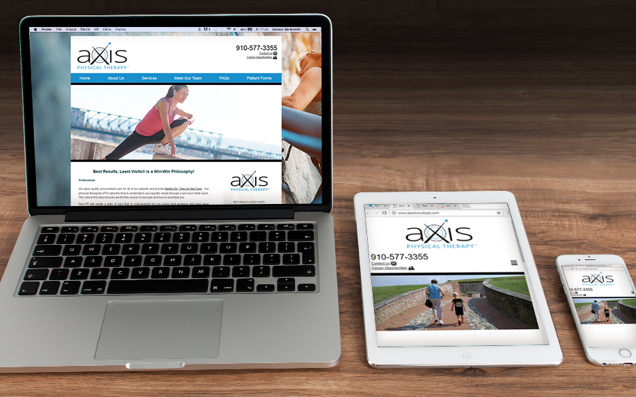 Axis Website Development
