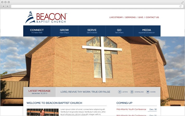 Beacon Baptist Church Website