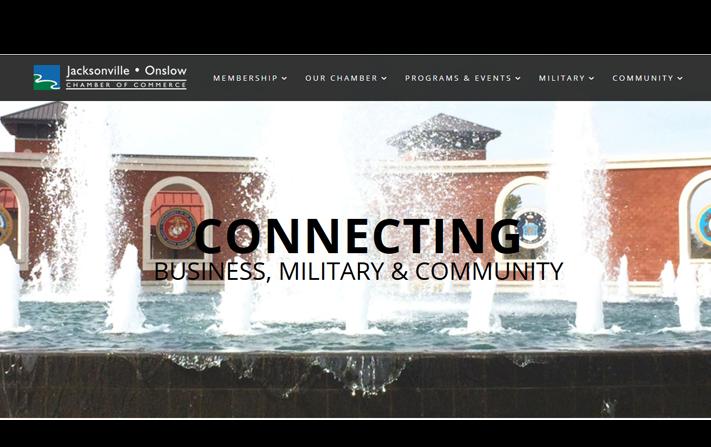 Jacksonville Onslow Chamber Website