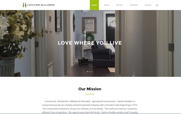 Hatchers Builders Website