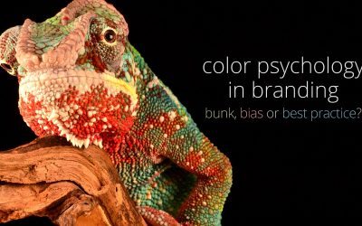 color psychology in branding - bunk, bias or best practice