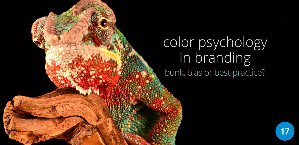 Color Psychology in Branding: bunk, bias or best practice