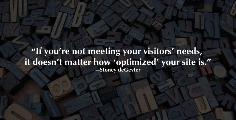 Optimization Quote