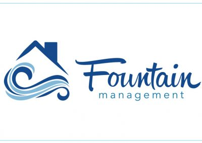 Fountain Management Logo Design