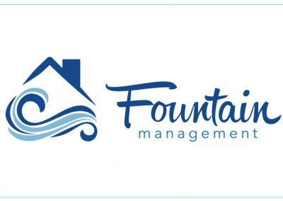 Fountain Management Logo Design