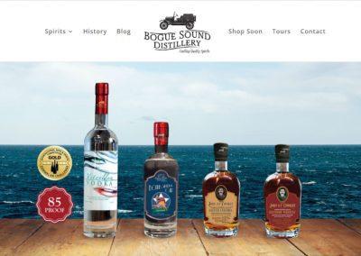 Bogue Sound Distillery Website