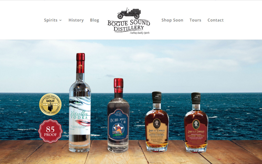 Bogue Sound Distillery Website