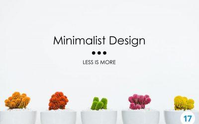 Minimalist Design: Less is More
