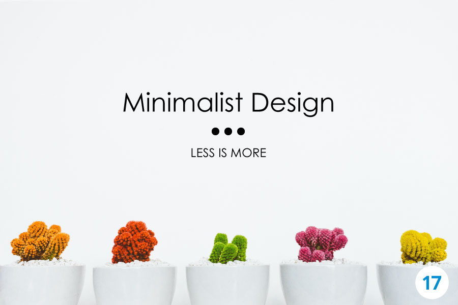 Minimalist Design: Less is More