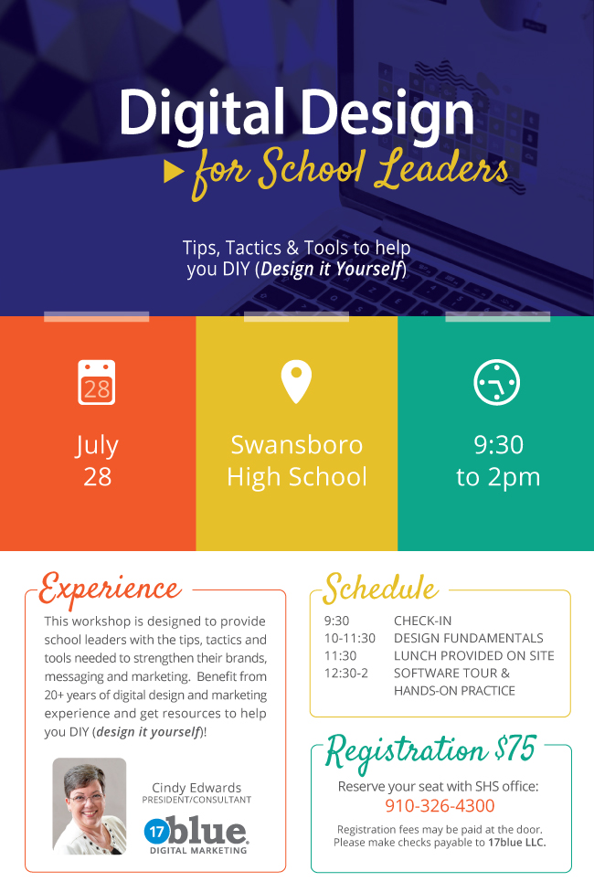 Digital Design for School Leaders One-Day Workshop Training