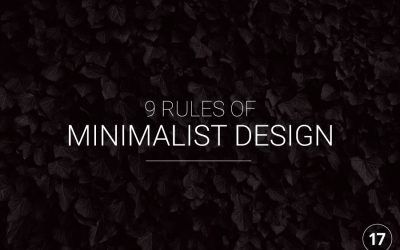 9 Rules for Minimalist Graphic Design